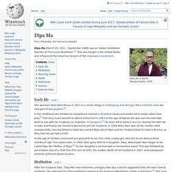Dipa Ma - Wikipedia