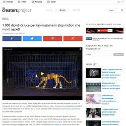 1.000 dipinti di luce per l'animazione in stop motion che non ti aspetti