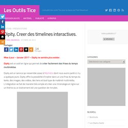Dipity. Creer des timelines interactives. – Les Outils Tice