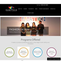 Two years Fashion design courses In Hyderabad-Hamstech