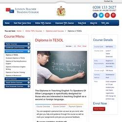 Diploma in TESOL