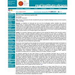 Diplomacia cultural: experiencias argentinas