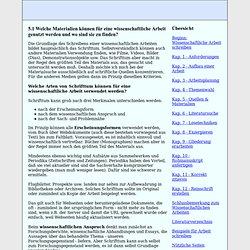 Materialien und Quellen für Diplomarbeit, Studienarbeit, Doktorarbeit