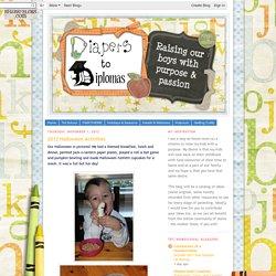 Diapers to Diplomas: 2012 Halloween Activities