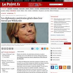 Les diplomates américains gênés dans leur travail par WikiLeaks, actualité Monde : Le Point