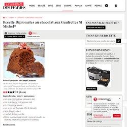 Recette de Diplomates au chocolat aux Gaufrettes St Michel®