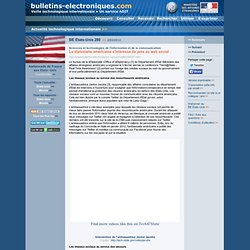 03/02> BE Etats-Unis280> La diplomatie américaine s'intéresse de près au web social