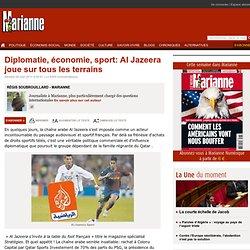 Diplomatie, économie, sport: Al Jazeera joue sur tous les terrains
