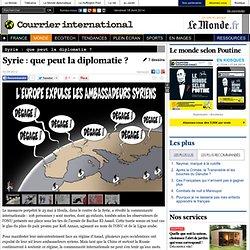Syrie : que peut la diplomatie ?