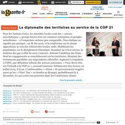 La diplomatie des territoires au service de la COP 21