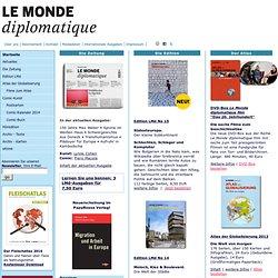 Le Monde diplomatique, deutsche Ausgabe