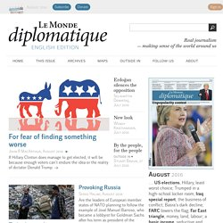 Le Monde diplomatique - English edition
