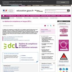 Le diplôme de compétence en langue (DCL)
