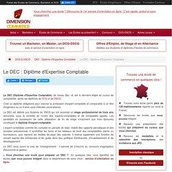 Le DEC : Diplôme d'Expertise comptable