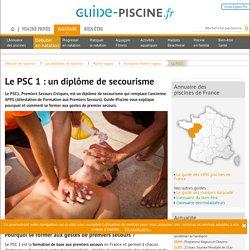 Le PSC 1 : le diplôme de formation aux premiers secours
