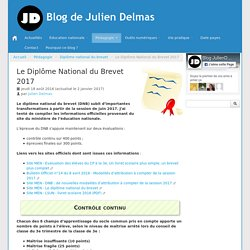 Le Diplôme National du Brevet 2017 - Blog de Julien Delmas