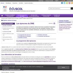 Brevet - 3 épreuves écrites (français, maths, histoire-géo-EMC)
