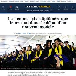 Les femmes plus diplômées que leurs conjoints: le début d'un nouveau modèle
