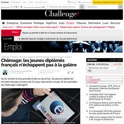 Chômage: les jeunes diplômés français n'échappent pas à la galère - 30 janvier 2014
