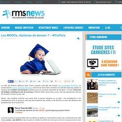 Les MOOCs, diplômes de demain ? - #TruParis