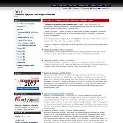 DELE - Diplomi di Spagnolo come Lingua Straniera (DELE)