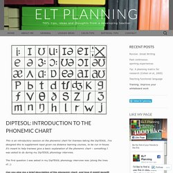 DipTESOL: introduction to the phonemic chart