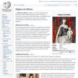 Díptico de Melun