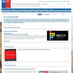 DIRAC - Convocatorias 2012