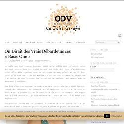 """On Dirait des Vrais Débardeurs ces """"Basic One"""" - La Jolie Girafe"""