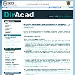 Dirección Académica Sede Bogotá