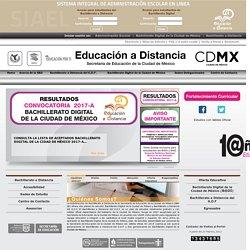 Portal Dirección Educación a Distancia