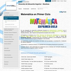 Dirección de Educación Superior - Mendoza -