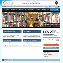 Sistema de Bibliotecas, SINAB - Colombia