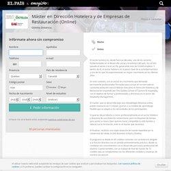 Máster en Dirección Hotelera y de Empresas de Restauración (Online) online Ostelea Distancia