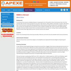 Direct Admission In Mbbs In China At Apexe