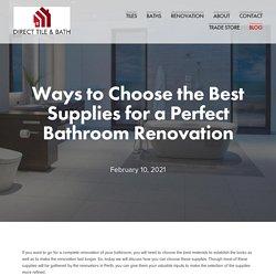 DIRECT TILE & BATH - Tiles Baths