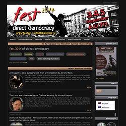 Direct Democracy Festival