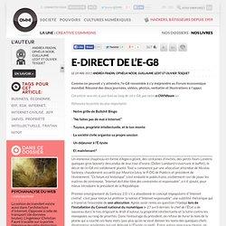 E-direct de l'e-G8