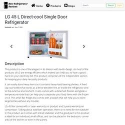 LG 45 L Direct-cool Single Door Refrigerator