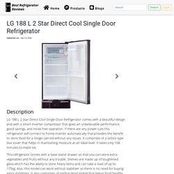 LG 188 L 2 Star Direct Cool Single Door Refrigerator
