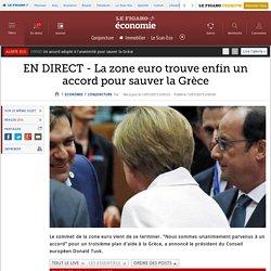 EN DIRECT - La zone euro trouve enfin un accord pour sauver la Grèce