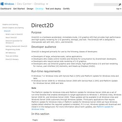 Direct2D (Windows)