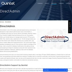 DirectAdmin Support Services in India
