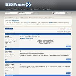 DX11 DirectCompute Buddhabrot Demo - Beyond3D Forum