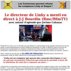 Le directeur de Linky a menti en direct à JJ Bourdin avec autant d'aplomb qure Jérôme Cahuzac