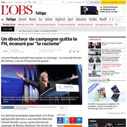 """Un directeur de campagne quitte le FN, écœuré par """"le racisme"""" - 22 janvier 2014"""