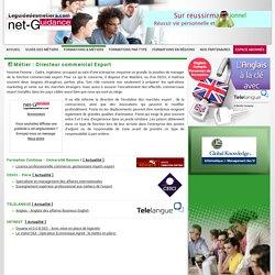 Directeur commercial Export - Le Guide Des Métiers