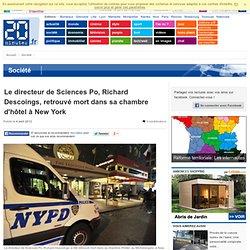 Le directeur de Sciences Po, Richard Descoings, retrouv mort dans sa chambre d'h tel New York