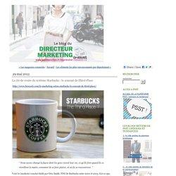 Le vide poches du directeur marketing édité par jérémy dumont. Un blog de veille PSST www.PSST.fr: La clé-de-voute du système Starbucks : le concept de Third-Place