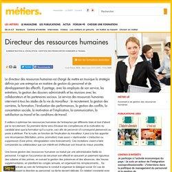 Directeur des ressources humaines - Métiers.be